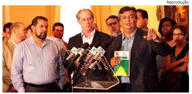 Flávio Dino discursa