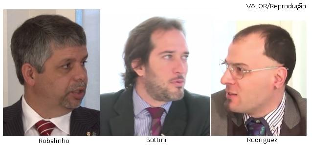 Robalinho, Bottini e Rodriguez