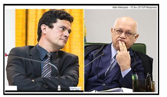 Sergio Moro  e Teori Zavascki