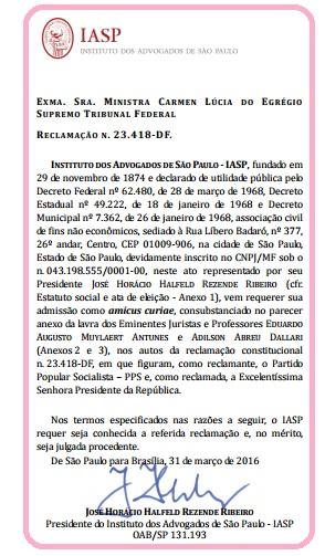 IASP ARAGÃO