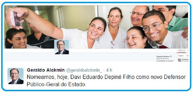 Alckmin e twitter