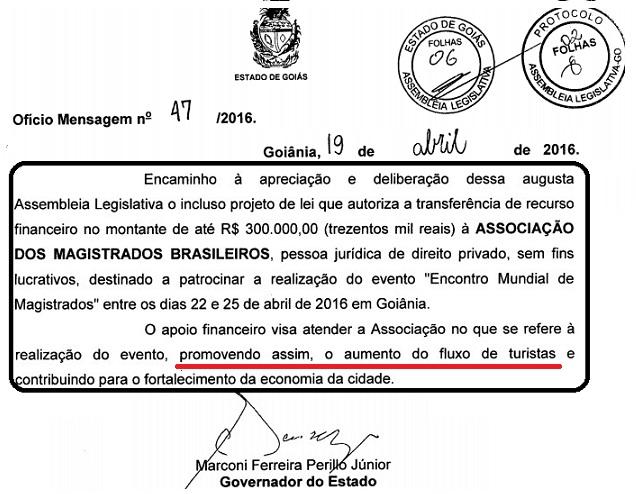 Governo de Goiás e AMB