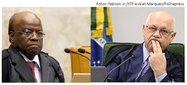 Joaquim Barbosa e Teori Zavascki
