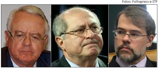 Carlos Velloso, Paulo Bernardo e Toffoli
