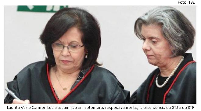 Laurita e Cármen Lúcia