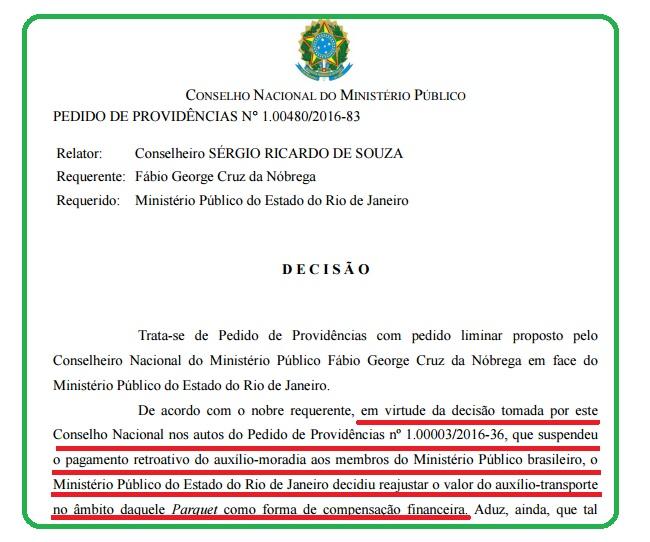 MP Rio tenta driblar proibição