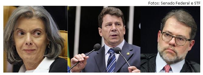Cármen Lúcia, Ivo Cassol, Dias Toffoli