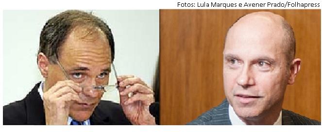 Daniel Dantas e Fausto De Sanctis