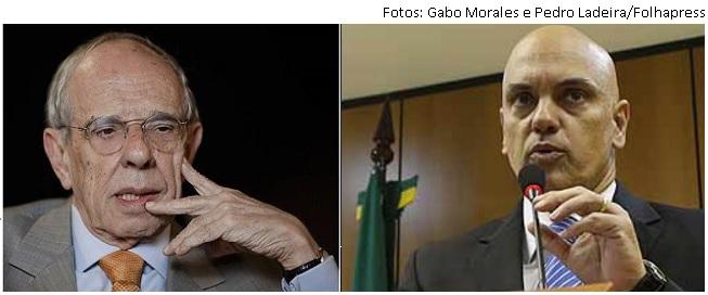 Thomaz Bastos e Alexandre Moraes