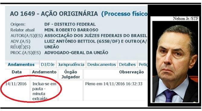Barroso e Auxílio-Moradia