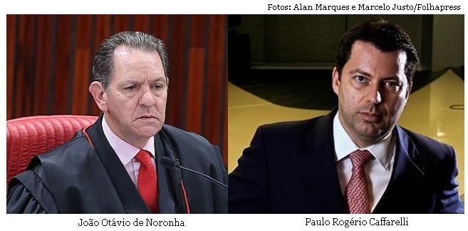João Otávio de Noronha e Paulo Rogério Caffarelli