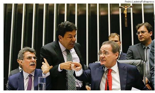 Jucá, Mendonça e Renan