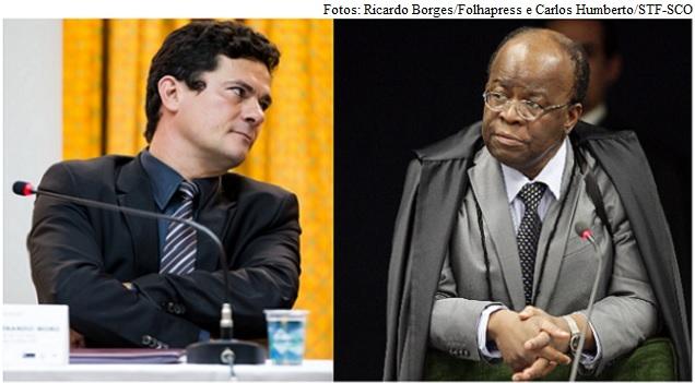 Sergio Moro e Joaquim Barbosa